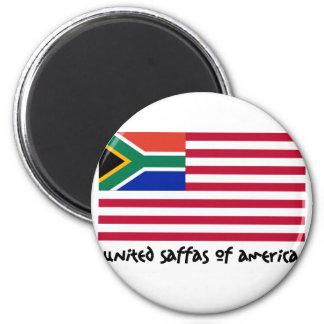 United Saffas of America Refrigerator Magnets