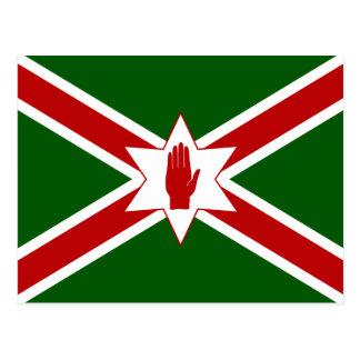 United Saint Patrick'S For Northern Ireland flag Postcard