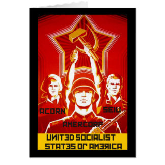 United Social States of America Card