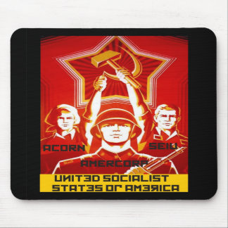 United Social States of America Mousepads