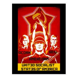 United Social States of America Postcard