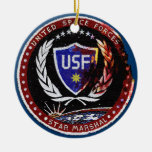 United Space Forces Ornaments