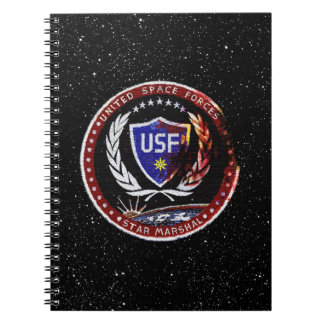 United Space Forces Spiral Notebook