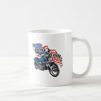 United Stand American Biker Coffee Mug