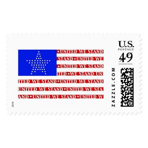 United Stars Stamp