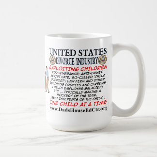 United State Divorce Industry Mug. Coffee Mug