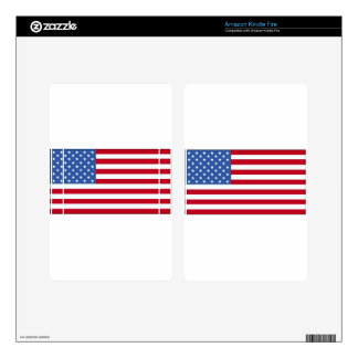 United State of America Flag Skins For Kindle Fire
