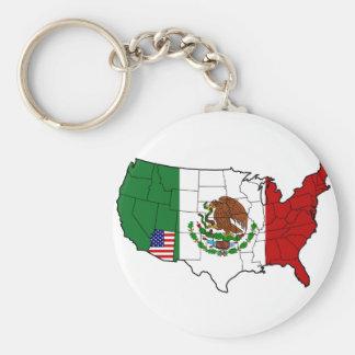 United State of Arizona Keychain