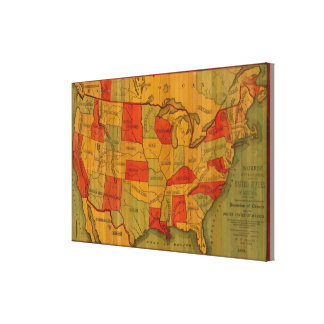 United States 11 Canvas Print