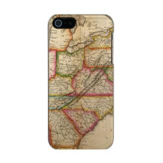 United States 11 Metallic Phone Case For iPhone SE/5/5s