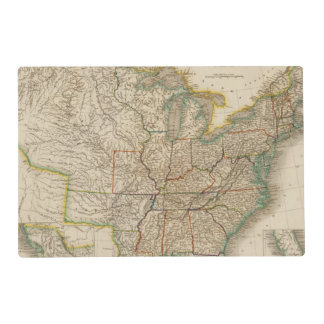 United States 12 Placemat