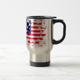 United States 15 Oz Stainless Steel Travel Mug