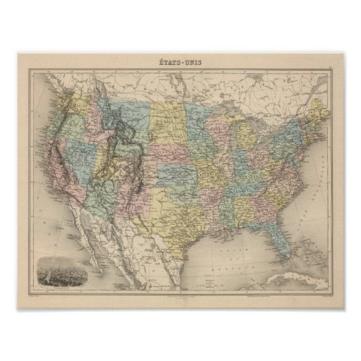 United States 17 Poster