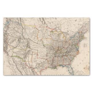 """United States 25 10"""" X 15"""" Tissue Paper"""