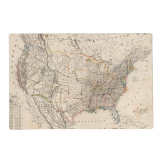 United States 25 Placemat