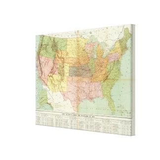 United States 28 Canvas Print
