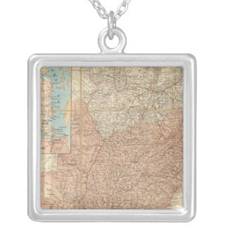 United States 2 Silver Plated Necklace