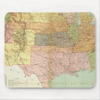 United States 33 Mouse Pad