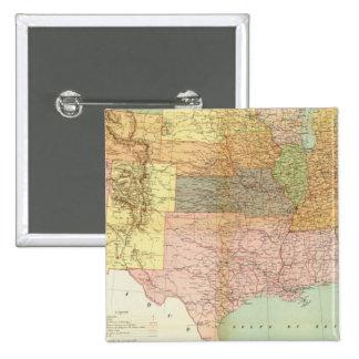 United States 33 Pinback Button