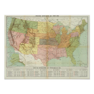 United States 34 Poster