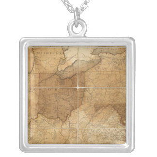 United States 39 Silver Plated Necklace