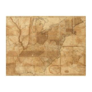 United States 39 Wood Canvas