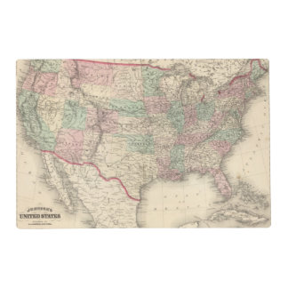United States 4 Placemat