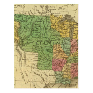 United States 6 Postcard