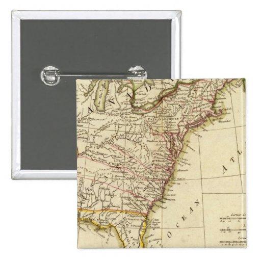 United States 9 2 Inch Square Button