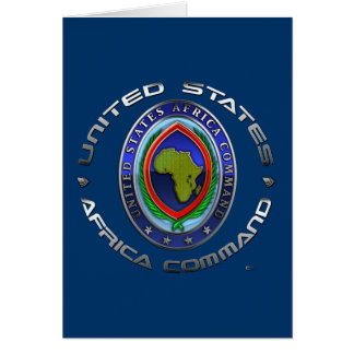 United States Africa Command Card