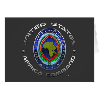 United States Africa Command Greeting Card