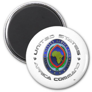 United States Africa Command 2 Inch Round Magnet