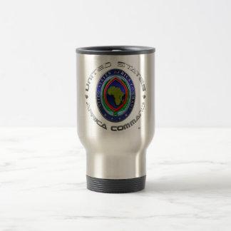 United States Africa Command 15 Oz Stainless Steel Travel Mug