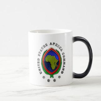 United States Africa Command 11 Oz Magic Heat Color-Changing Coffee Mug