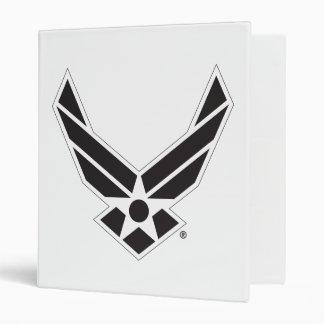 United States Air Force Logo - Black Binder