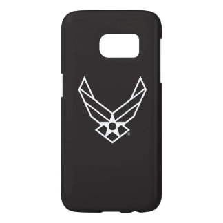 United States Air Force Logo - Black Samsung Galaxy S7 Case