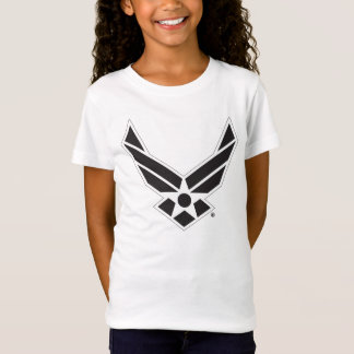 United States Air Force Logo - Black T-Shirt
