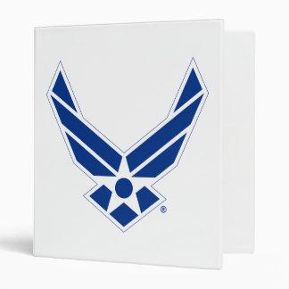 United States Air Force Logo - Blue Binder