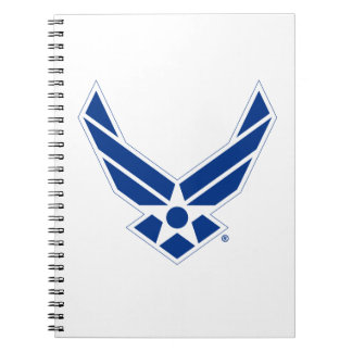 United States Air Force Logo - Blue Notebook