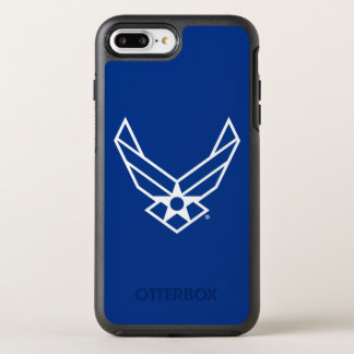United States Air Force Logo - Blue OtterBox Symmetry iPhone 7 Plus Case