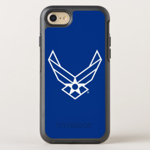 United States Air Force Logo - Blue OtterBox Symmetry iPhone 8/7 Case