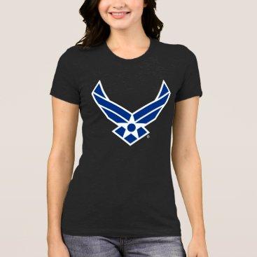 usairforce United States Air Force Logo - Blue T-Shirt