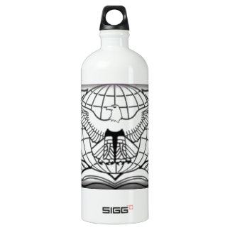 United States Air Force Security Forces F/Badge Water Bottle