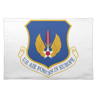 United States Air Forces in Europe Emblem Place Mats