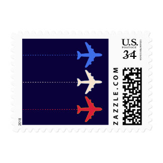 United States airplanes Postage