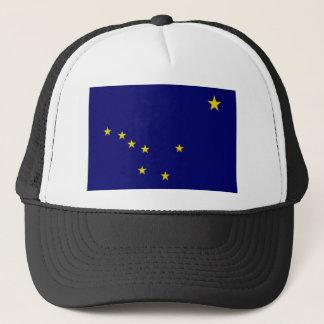 United States Alaska Flag Trucker Hat