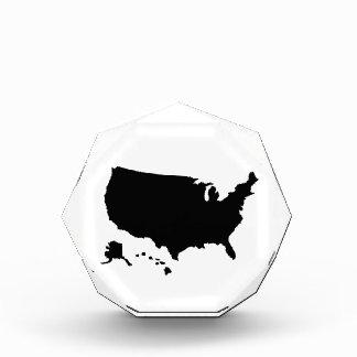United States Alaska Hawaii map Awards