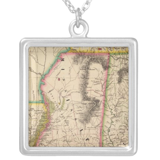 United States, America 56 Silver Plated Necklace