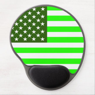 united states america country ecology green flag gel mouse mats