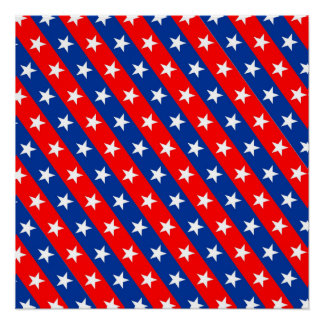 united states america country flag pattern symbol poster